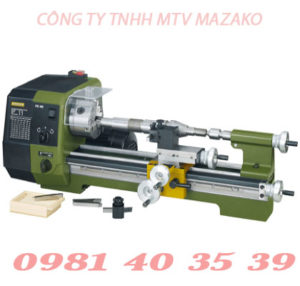 Máy tiện mini Proxxon, Model PD400, Ø170x400mm
